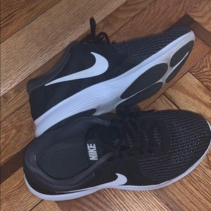 Nike sneakers **really good condition**
